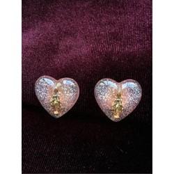 Boucles d'oreilles en forme...